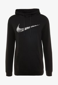 Nike Performance - DRY HOODIE - Jersey con capucha - black - 4