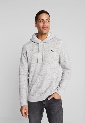 HOOD ICON POPOVER - Jersey con capucha - grey