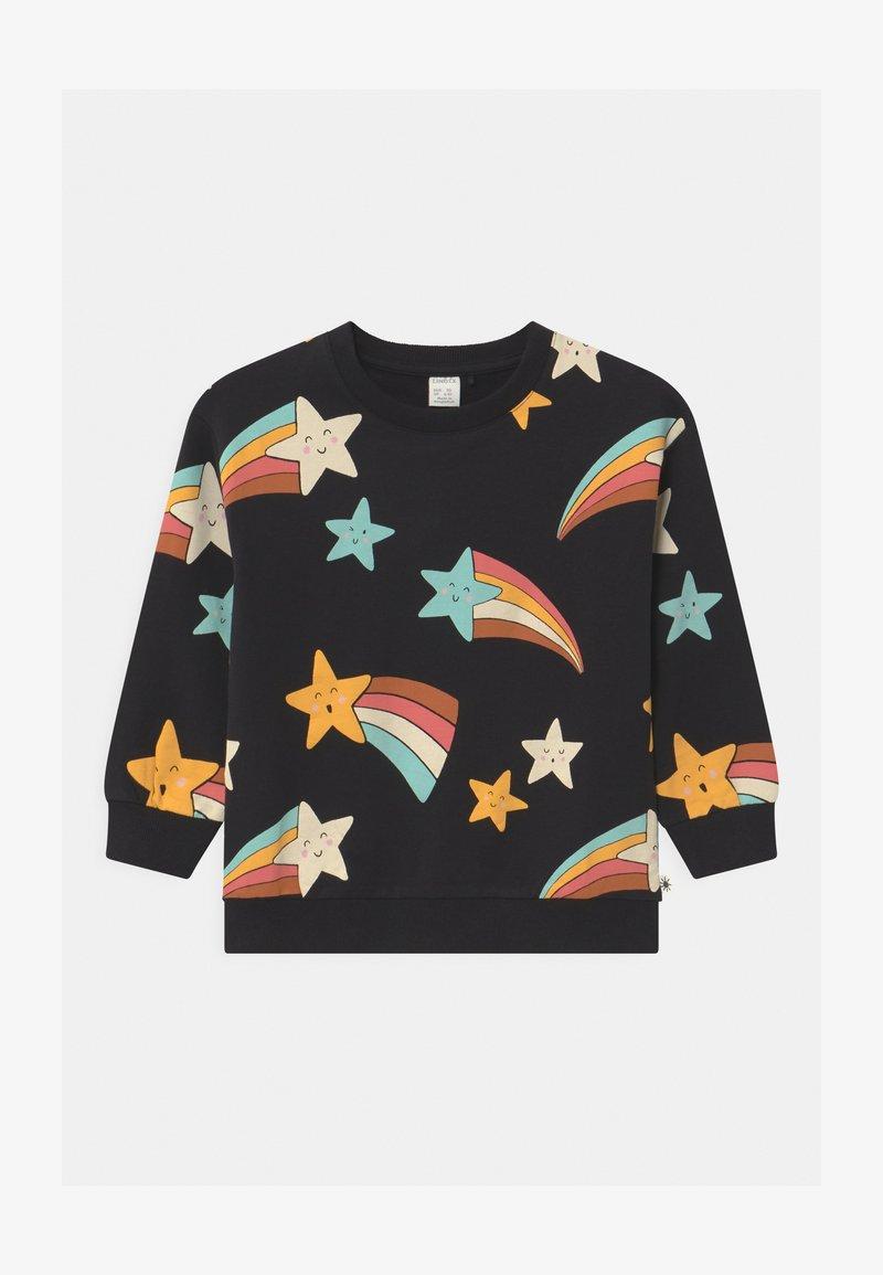 Lindex - MINI SHOOTING STARS - Sweatshirt - off black