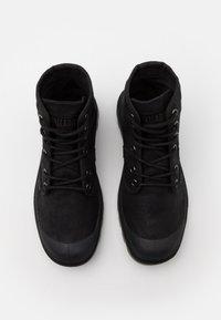 Palladium - PALLABROUSE WAX UNISEX - Lace-up ankle boots - black - 3