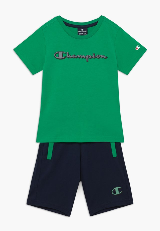 LEGACY GRAPHIC SHOP SET UNISEX - Pantaloncini sportivi - green/dark blue