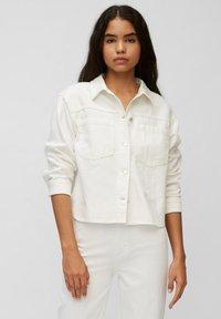 Marc O'Polo DENIM - Denim jacket - multi/bright white - 0
