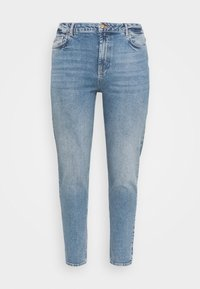 Pieces Curve - PCLEAH MOM - Relaxed fit jeans - medium blue denim - 3