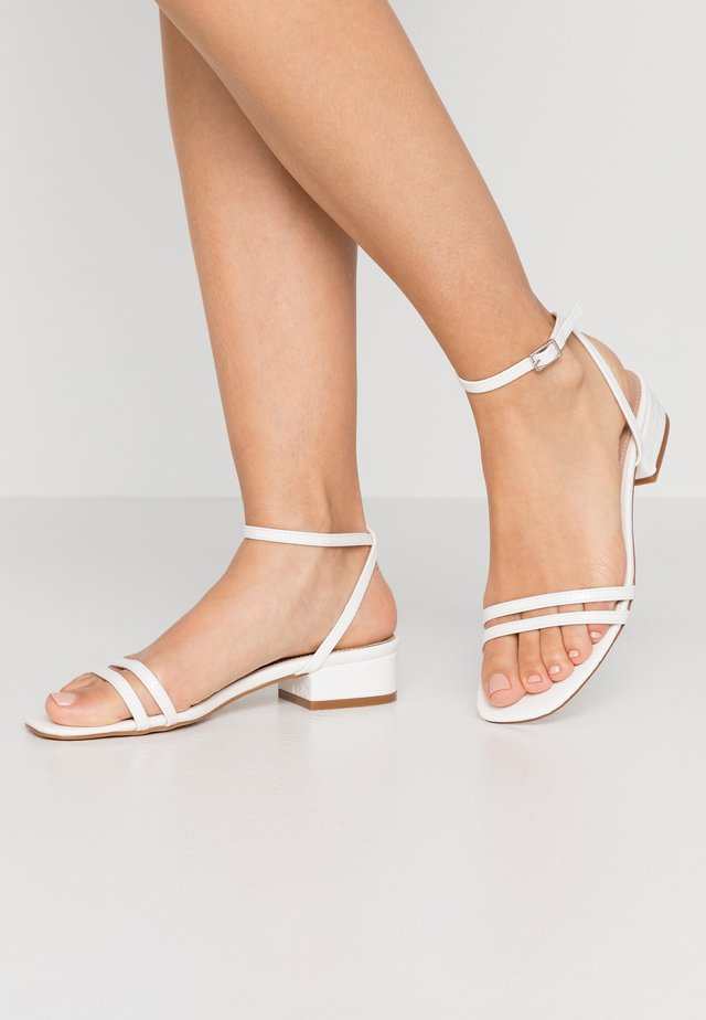 EVAN - Sandals - white
