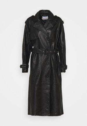 EDITION GRAF - Leather jacket - jet black