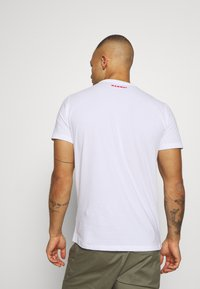 Mammut - LOGO MEN - T-shirt med print - bright white - 2