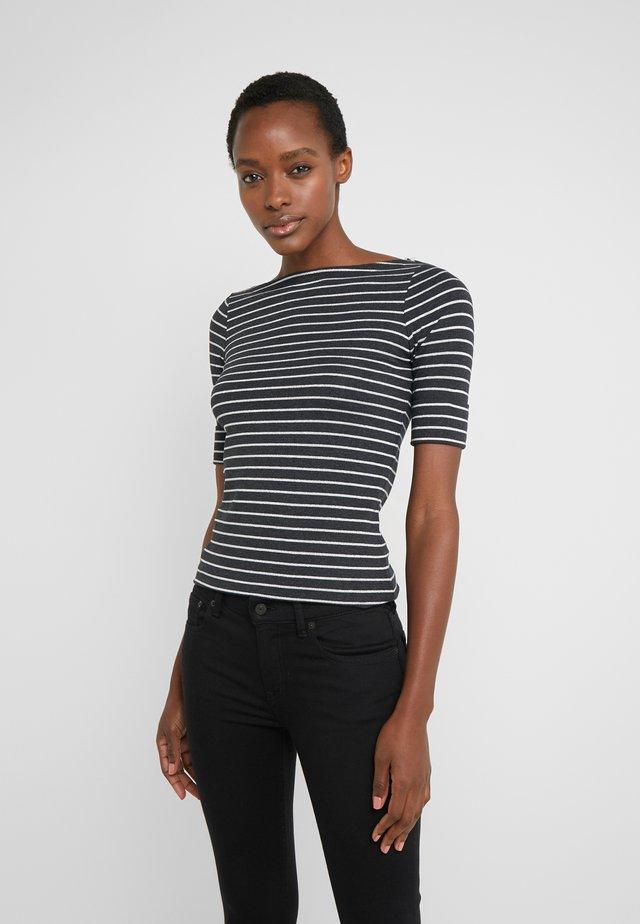 Print T-shirt - madison grey heather