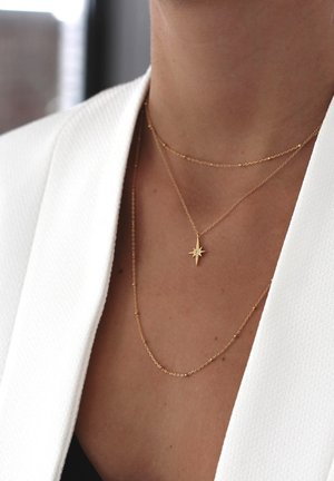 POLE STAR - Necklace - oro