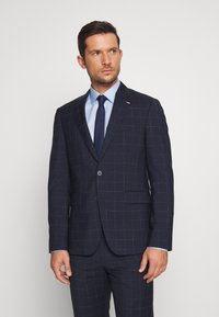 Tommy Hilfiger Tailored - WINDOWPANE SLIM FIT SUIT - Oblek - blue - 2