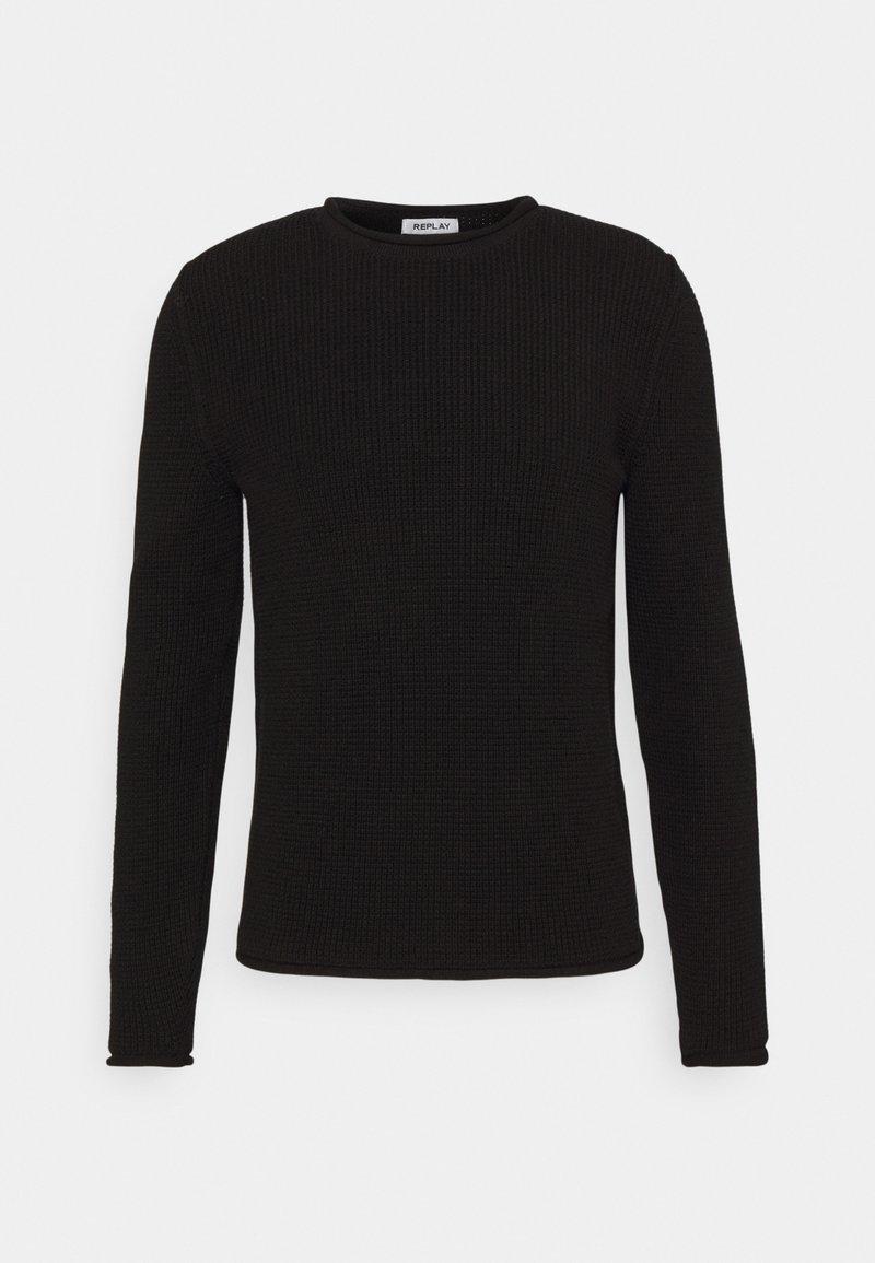 Replay - Stickad tröja - black
