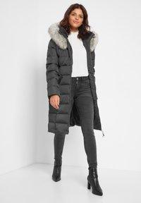 ORSAY - Down coat - dunkelgrau meliert - 1