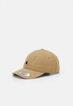 MADISON LOGO UNISEX - Cap - brown/black
