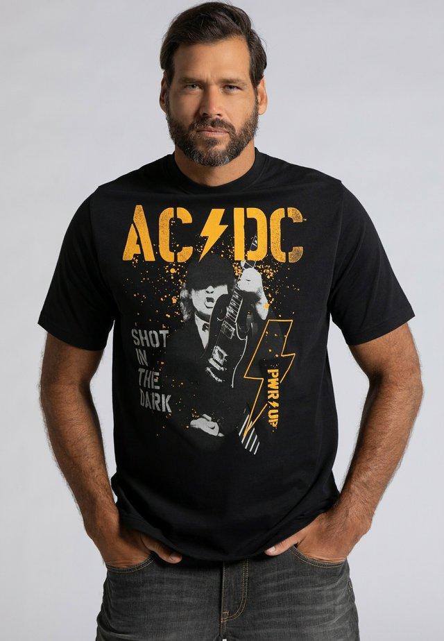 AC/DC - T-shirt print - schwarz