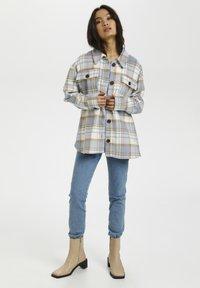 Kaffe - Summer jacket - blue - 1