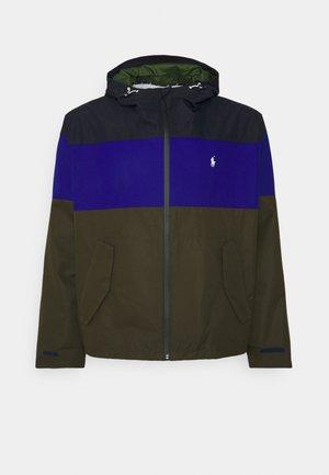 PORTLAND  - Summer jacket - olive, dark blue