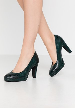 COURT SHOE - Escarpins à talons hauts - green