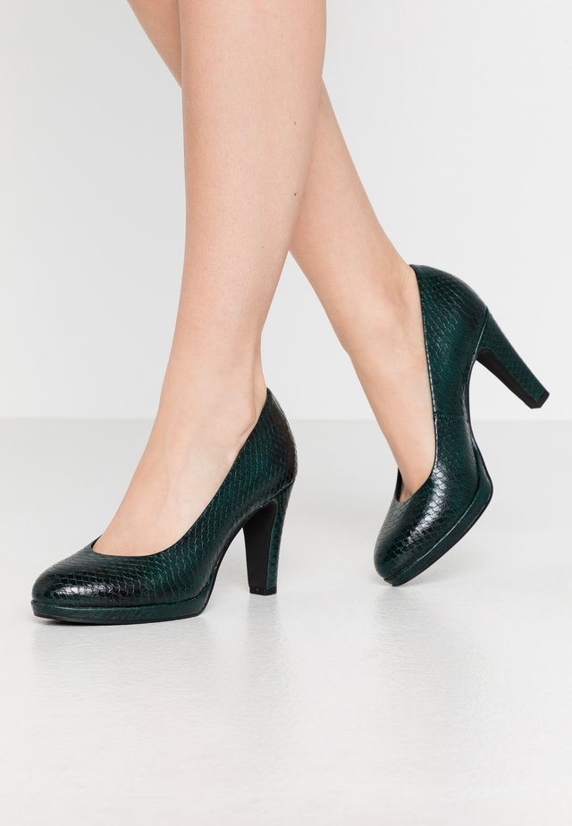 COURT SHOE - High heels - green