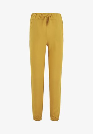 Tracksuit bottoms - yellow
