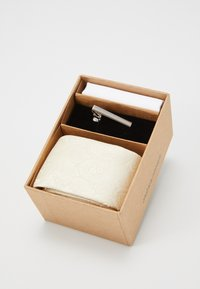 Jack & Jones - JACRICK GIFT BOX SET - Pocket square - bleached sand - 3