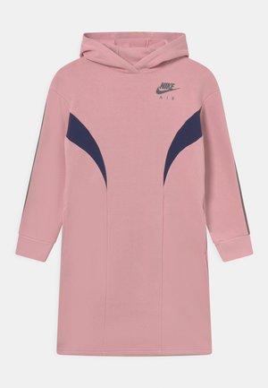 AIR DRESS - Day dress - pink glaze/midnight navy