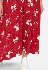 Sheego - Maxi dress - rot bedruckt - 3