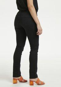 Denim Hunter - 33 THE CELINA HIGH CUSTOM - Straight leg jeans - black wash - 3