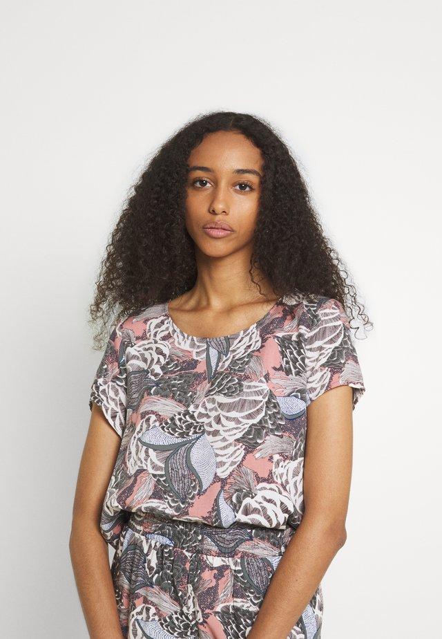 ONLGUSTA LIFE  - T-shirt imprimé - ash rose