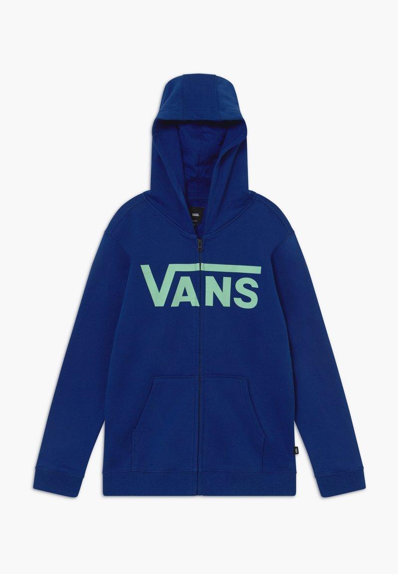Vans - Zip-up hoodie - sodalite blue/dusty jade green