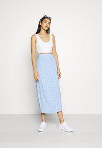 Envii - MALLOW SKIRT - Pencil skirt - light blue - 1