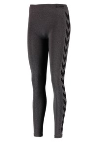 Hummel - CLASSIC BEE CI SEAMLESS - Tights - black melange - 4