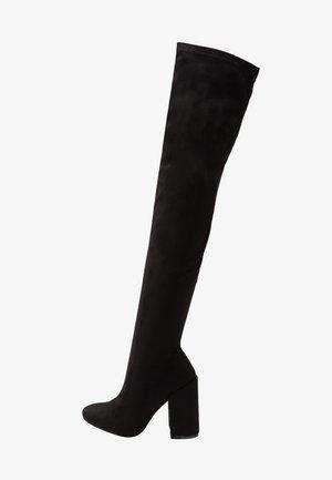 EDITTA - High Heel Stiefel - black
