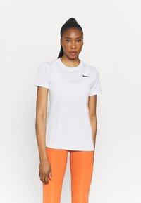 Nike Performance - TEE CREW - T-shirts - white - 0