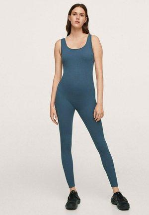 LONG STRETCH - Jumpsuit - petrol blue