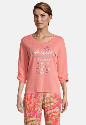 Long sleeved top - shell pink
