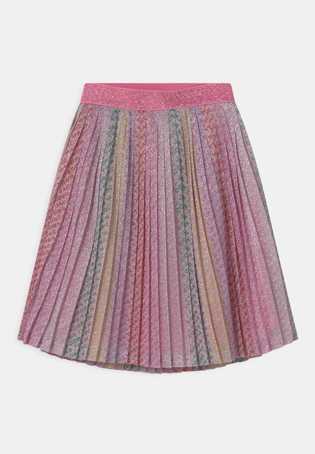 PLEATED  - Pleated skirt - multicoloured