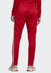 adidas Originals - SST TRACKSUIT BOTTOMS - Tracksuit bottoms - red - 2