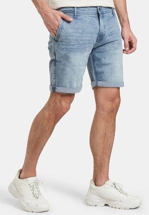 ZENO DENIM SHORT - Jeansshort - blue denim