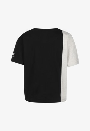 Print T-shirt - bk black