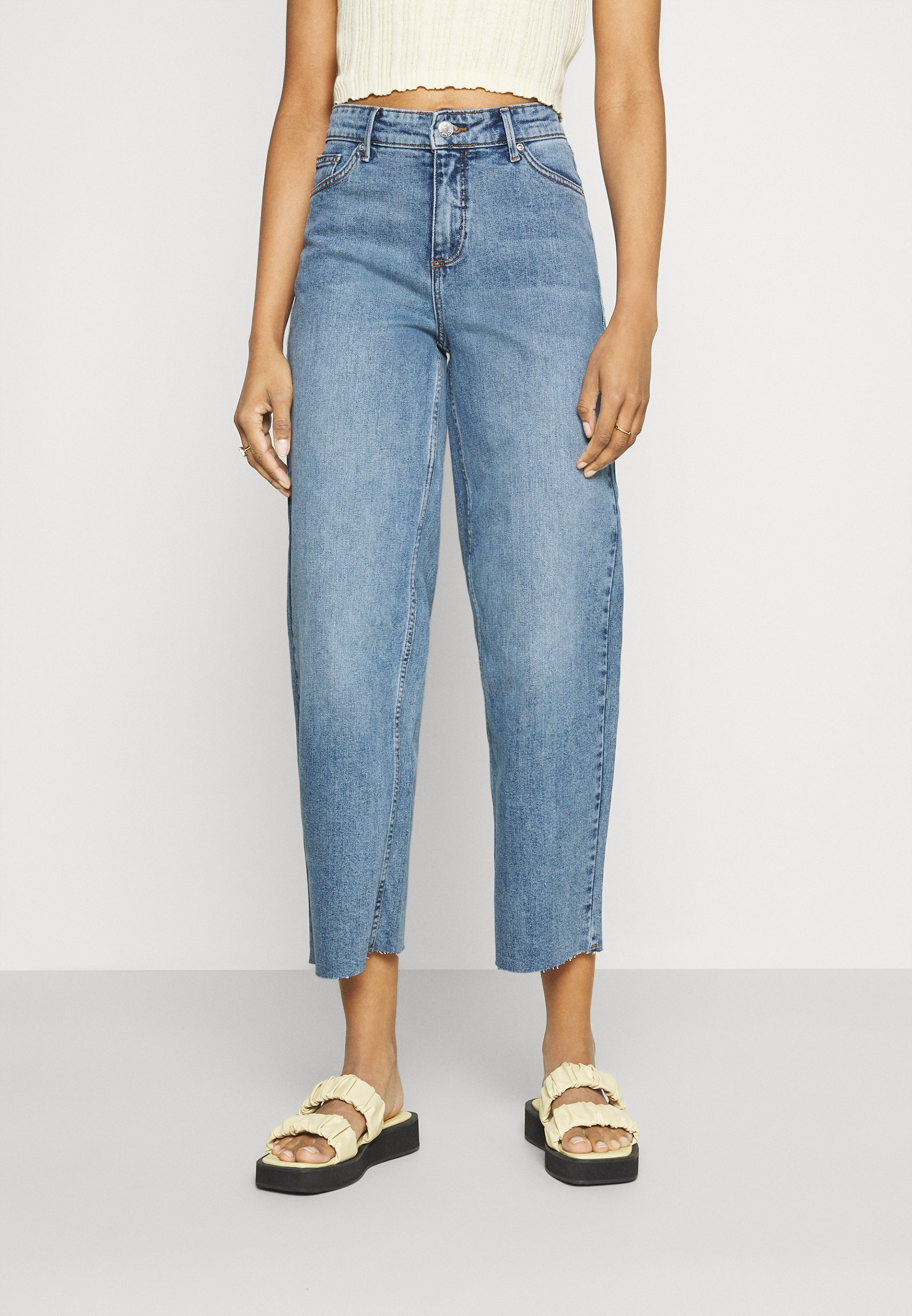 Women BYKATO BYKARINA JEANS  - Straight leg jeans