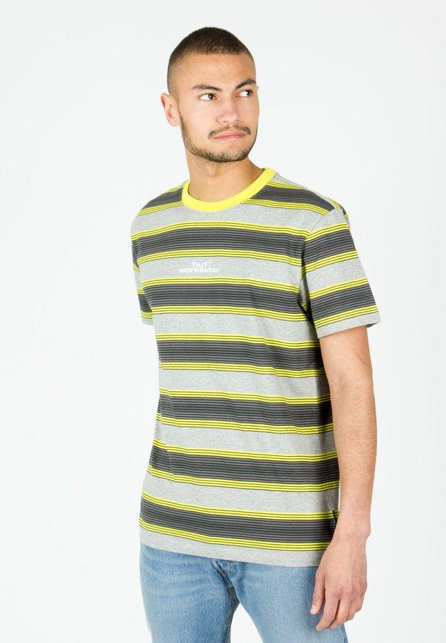 TRAVIS - T-shirt print - hot lime
