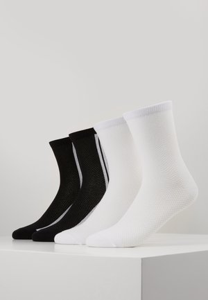 ONLINE WOMEN FASHION SOCKS 4 PACK - Socks - black