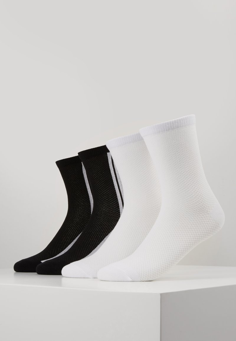 s.Oliver - ONLINE WOMEN FASHION SOCKS 4 PACK - Socks - black