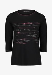 Betty Barclay - Long sleeved top - black/darkred - 3