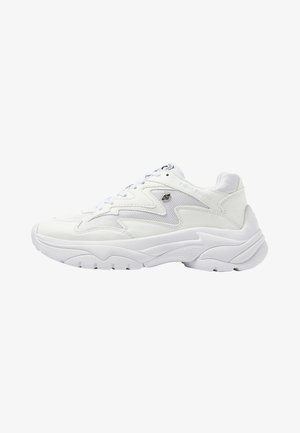 GALAXY - Sneakers laag - white/white