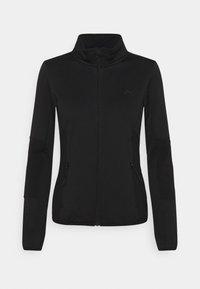 ONLY Play - JETTA HIGH NECK JACKET - Fleece jacket - black - 0