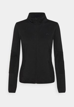 JETTA HIGH NECK JACKET - Fleecová bunda - black