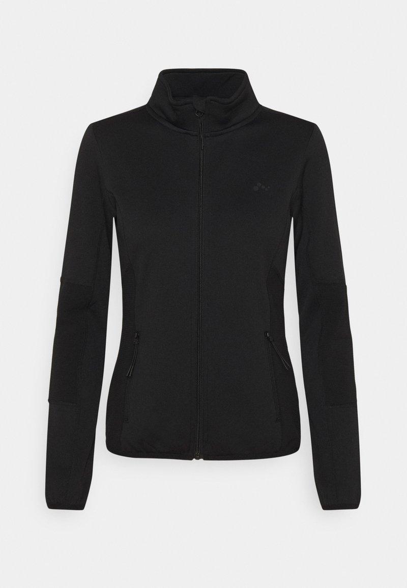 ONLY Play - JETTA HIGH NECK JACKET - Fleece jacket - black