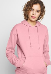 Missguided - BASIC HOODY - Mikina skapucí - pink - 4