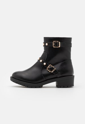 BIAPEARL FASHION BOOT WIDE FIT  - Støvletter - black