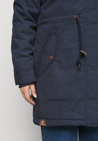 Ragwear Plus - ELBA COAT PLUS - Parka - navy - 5